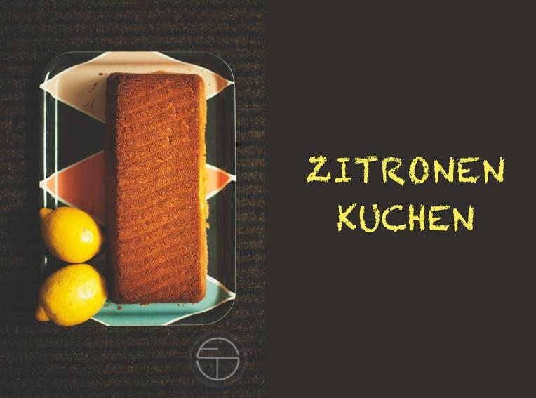 zitronenkuchen essen Kunst Fotografie